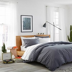 Bed Linen Collection Standard Washed Cotton Duvet Cover